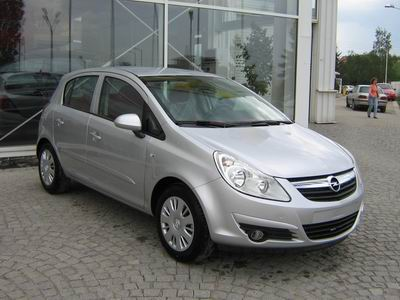 Opel Corsa 1.2i, Rent a car