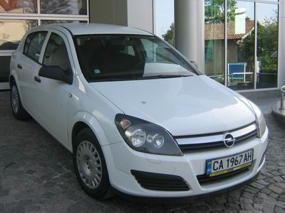 Opel Astra 1.6, Rent a car